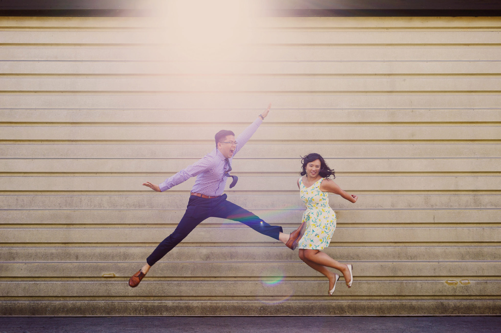 jump shot engagement toronto photographer