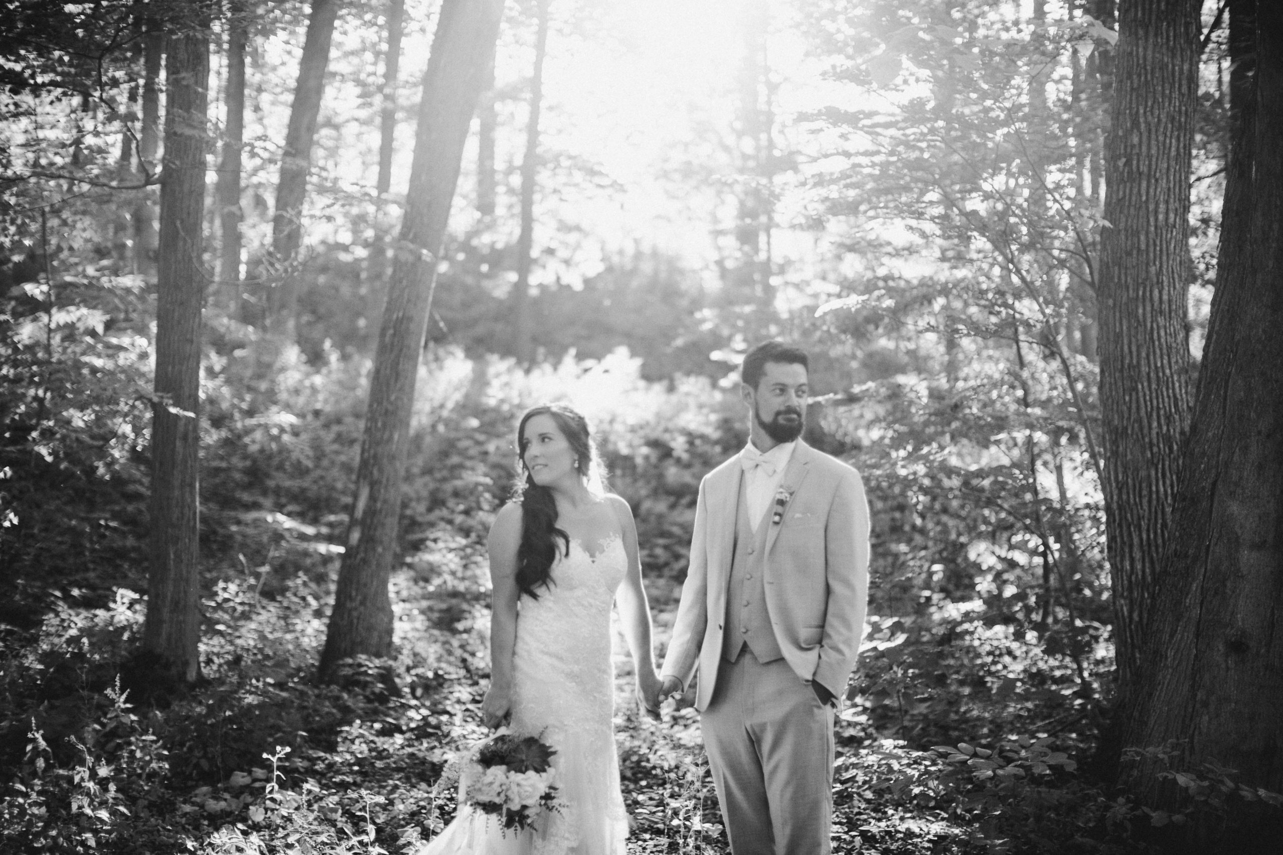 Balls Falls Forest Wedding Venue Outdoor Ceremony