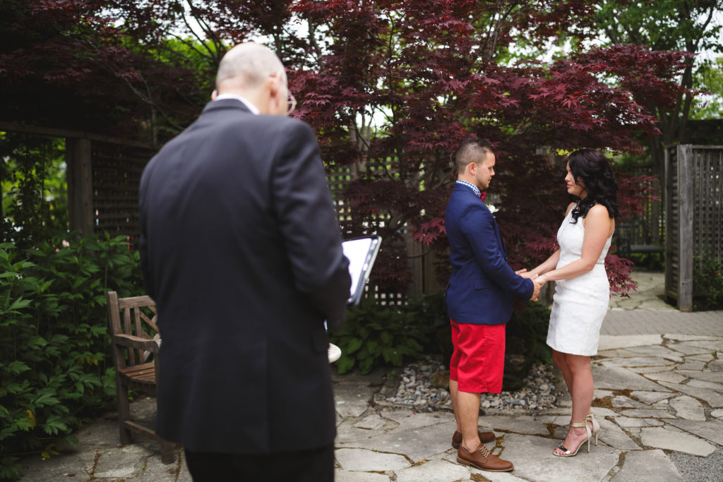 elopement inn on the twenty sheldon kofsky wedding officiant