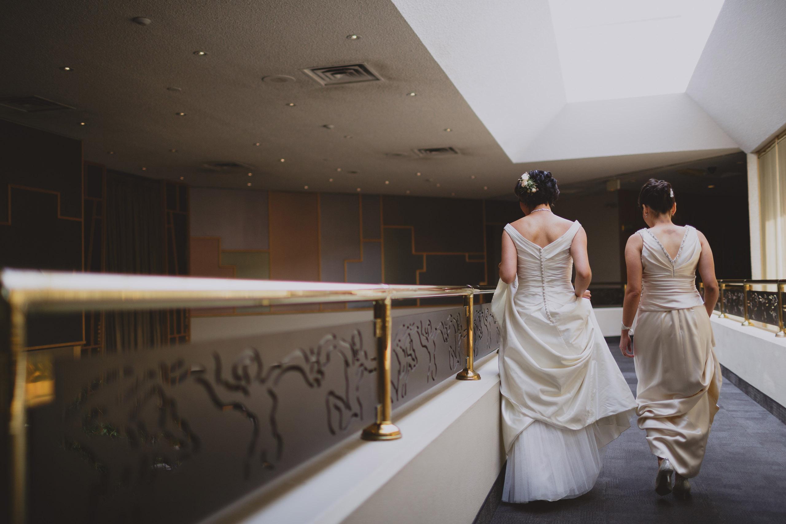 two brides h and h white oaks resort wedding niagara