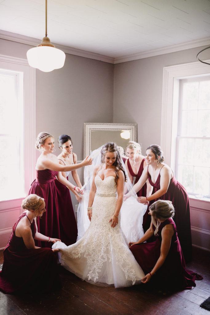 balls falls wedding photographer bridal suite getting ready