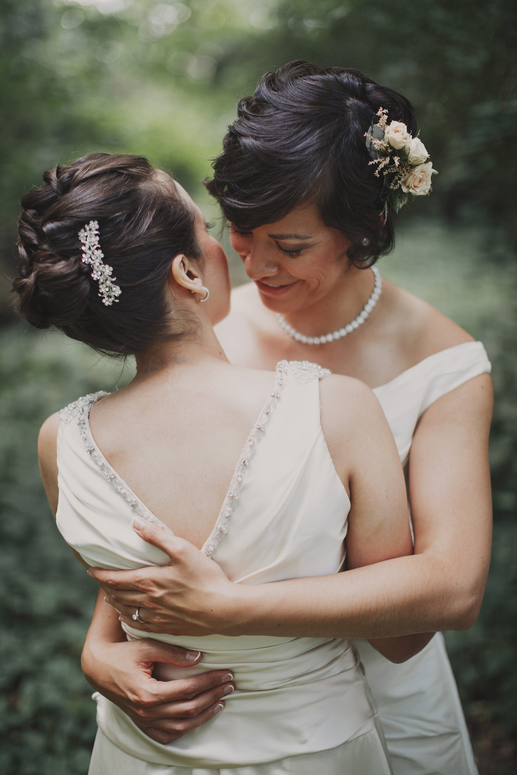 fine art wedding photographer lgbtq niagara same sex two brides