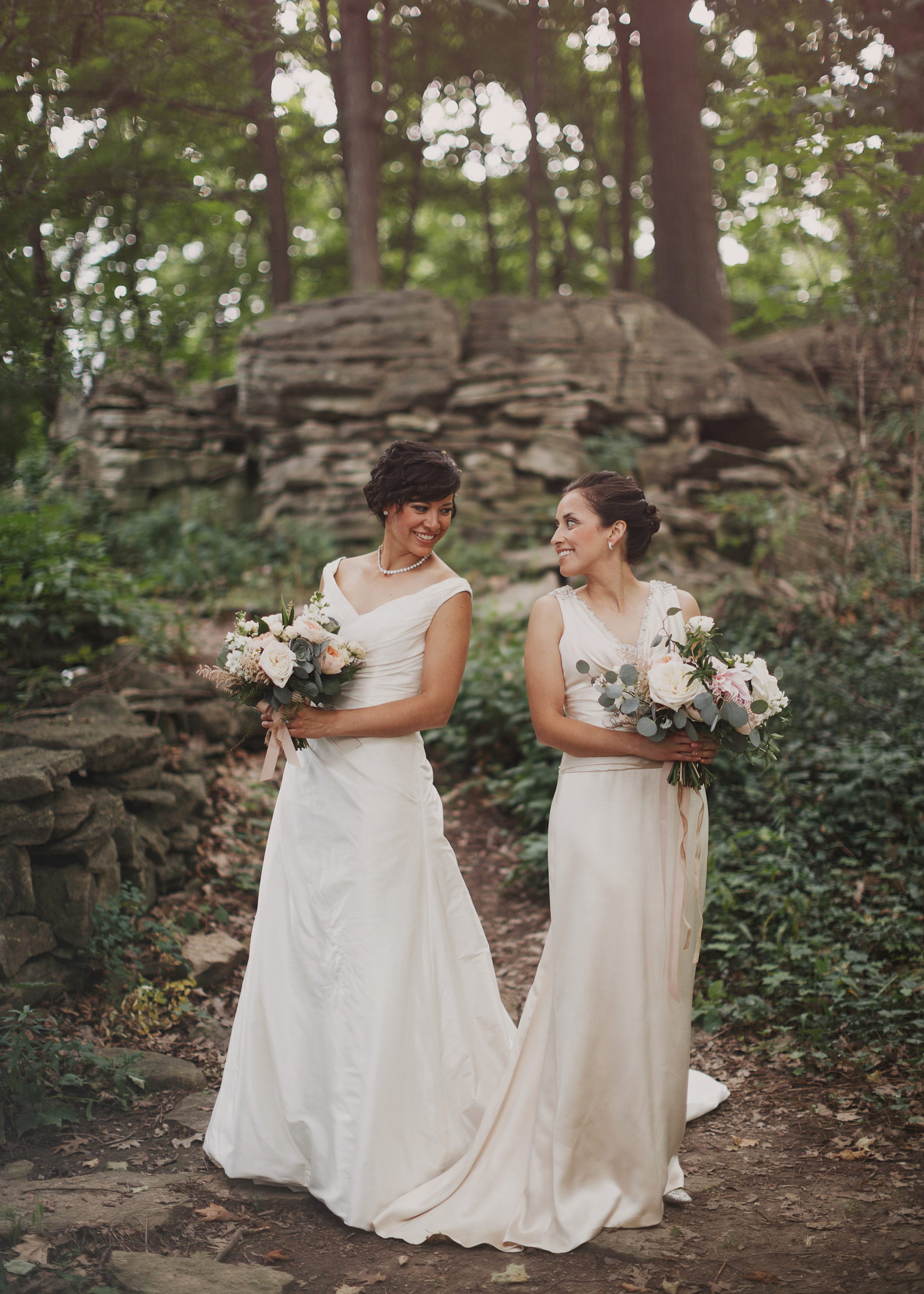 fine art wedding photographer lgbtq niagara same sex two brides