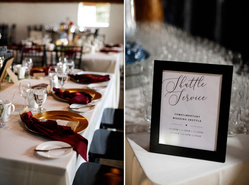 brooker events wedding planning balls falls reception vineland ontario