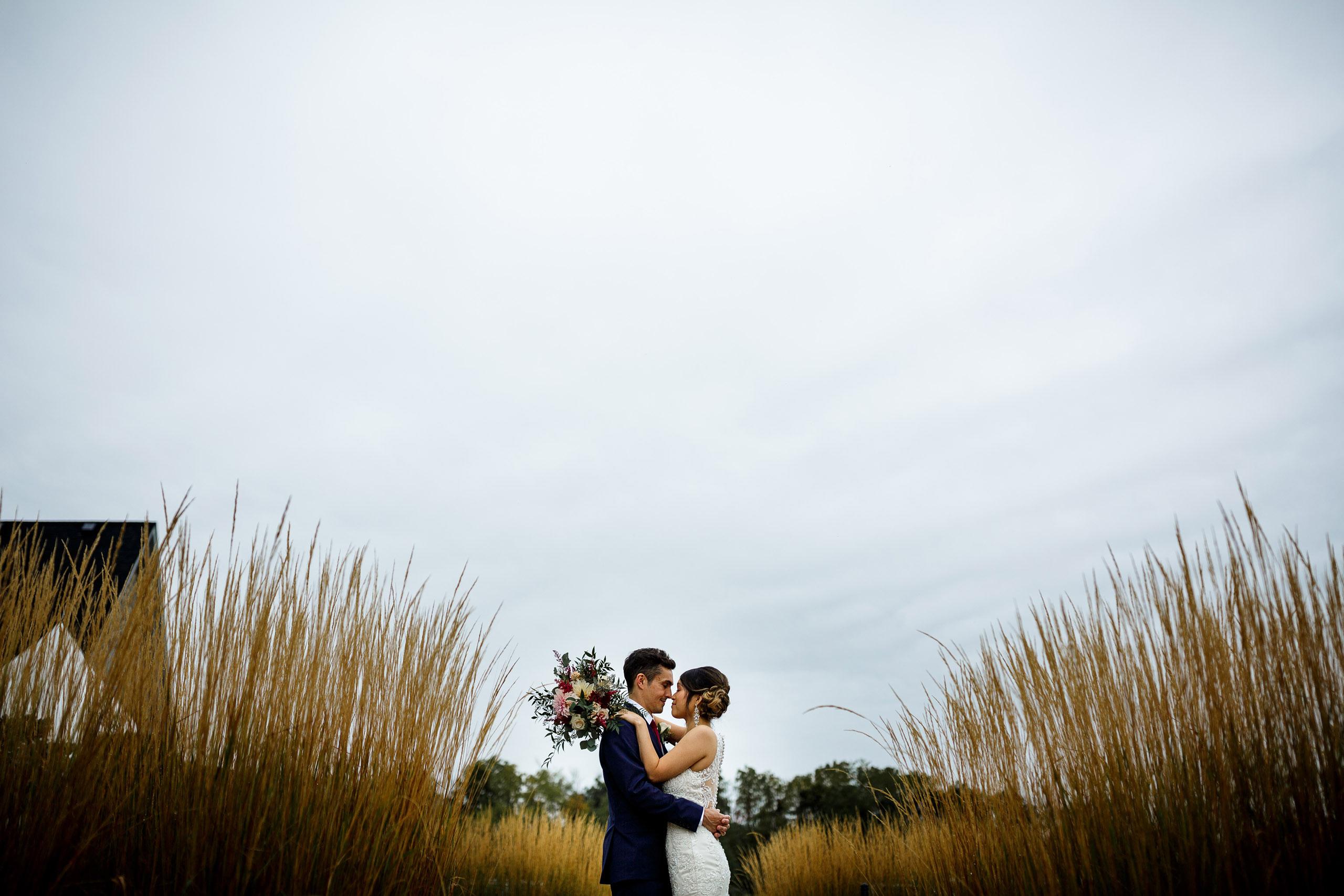 vineland estates winery wedding niagara bride groom
