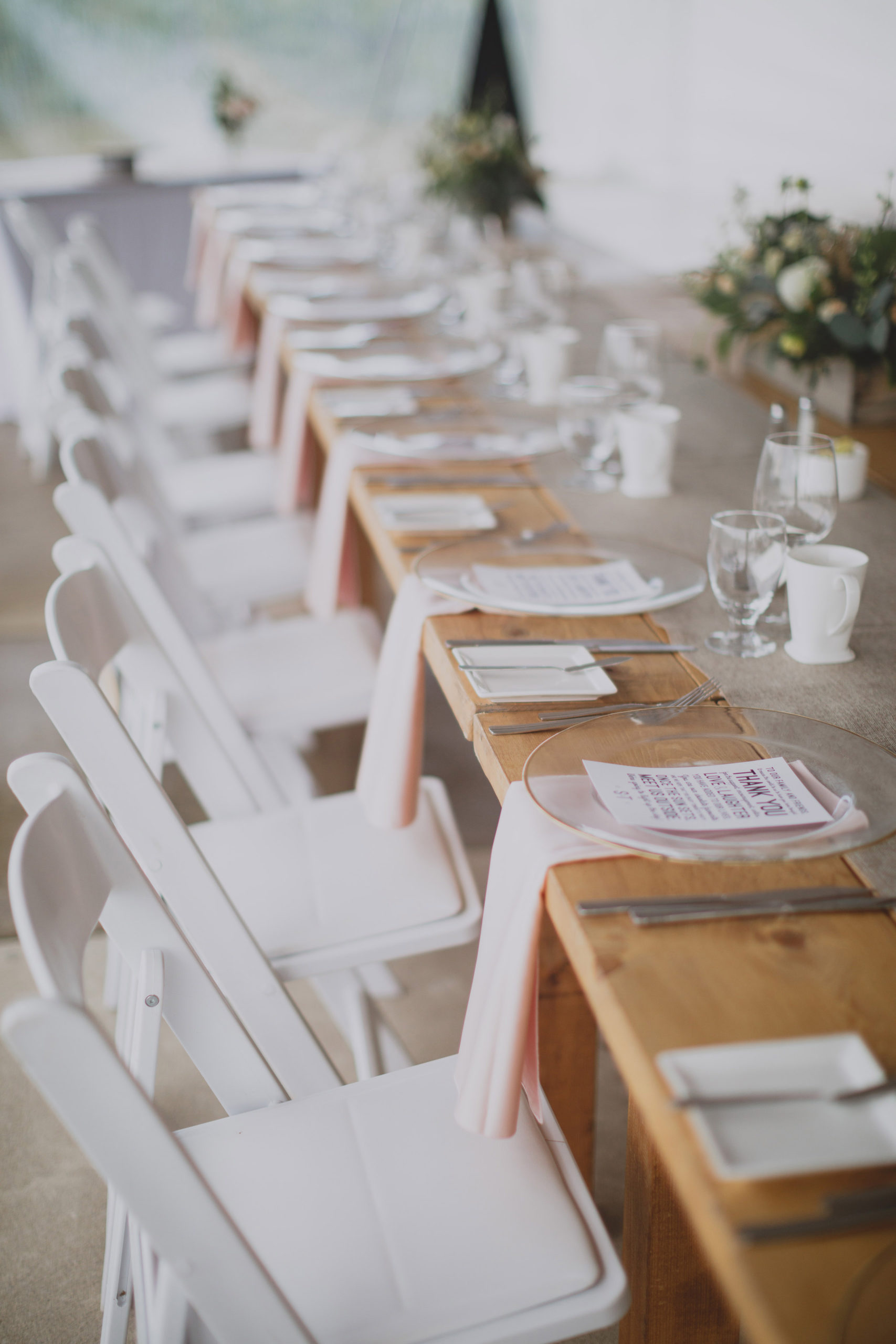 rustic pink harvest table southbook vineyard winery wedding same sex niagara