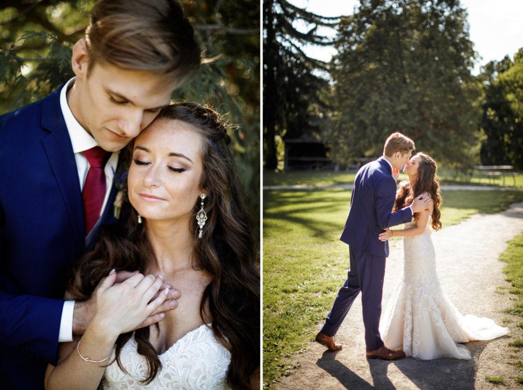 romantic wedding photography balls falls lincoln ontario makeup by southcoast beauty