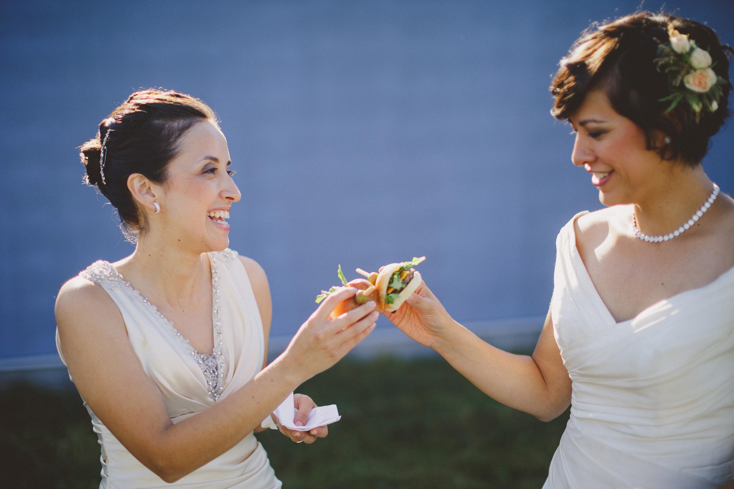 two brides wedding southbrook winery vineyard niagara on the lake photographer