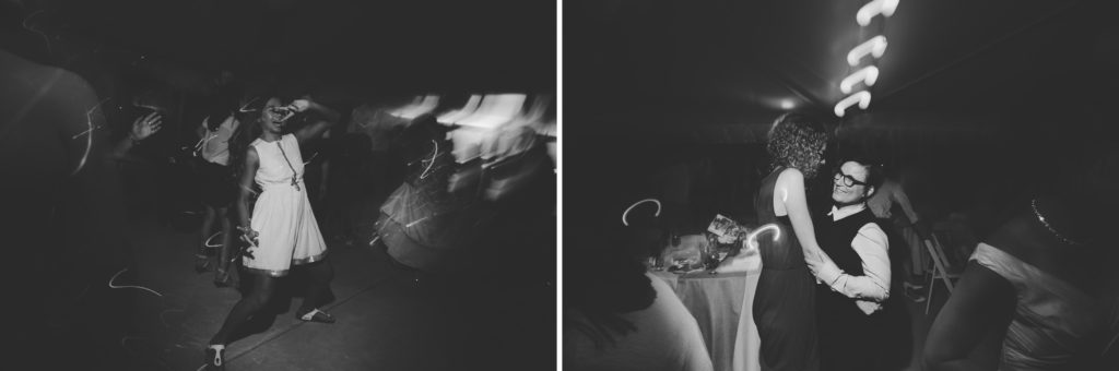 wedding reception southbrook winery vineyard tent dancing photography