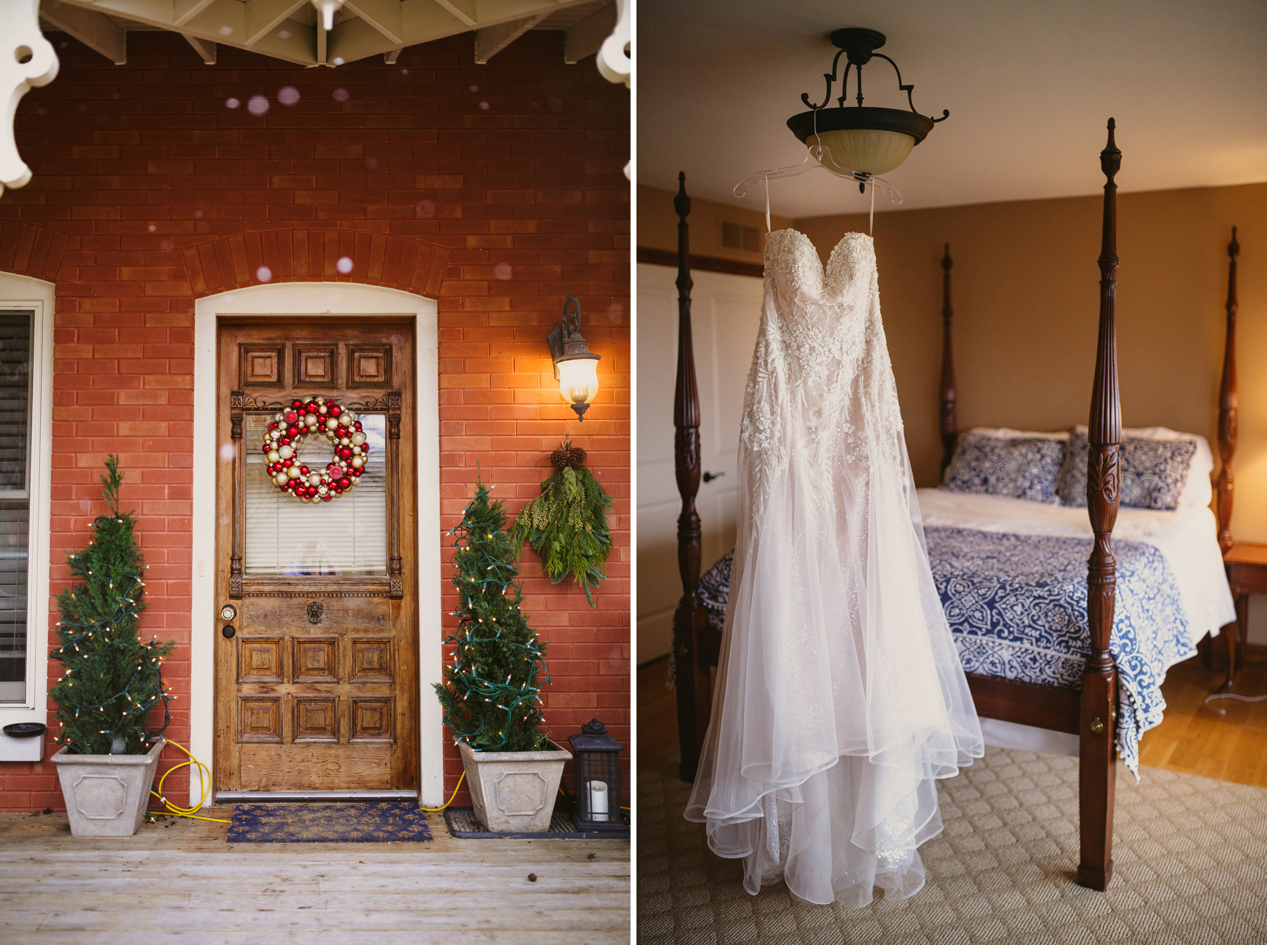 cave spring guest house vineyard wedding