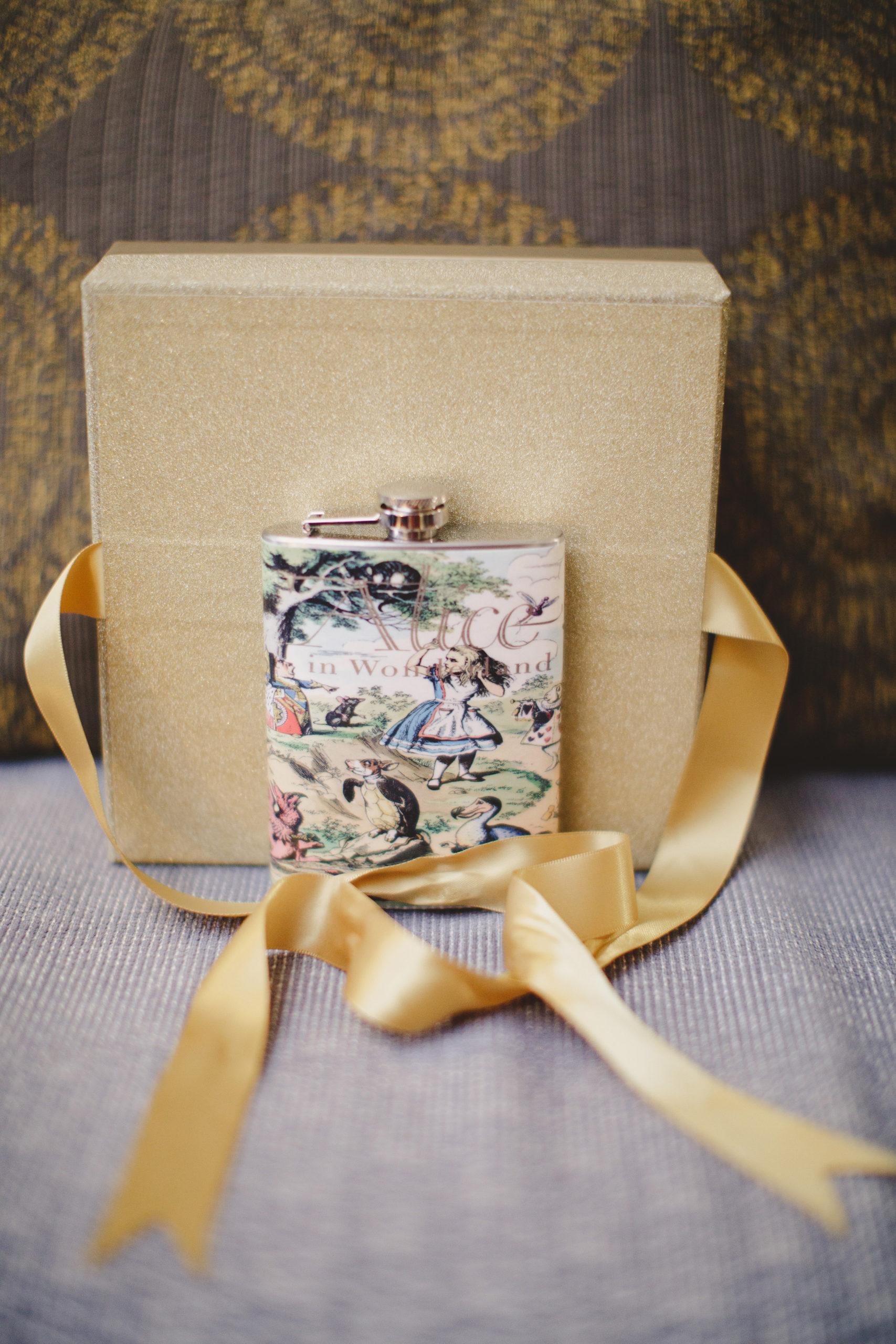 groom pocket watch alice in wonderland wedding ancaster ontario