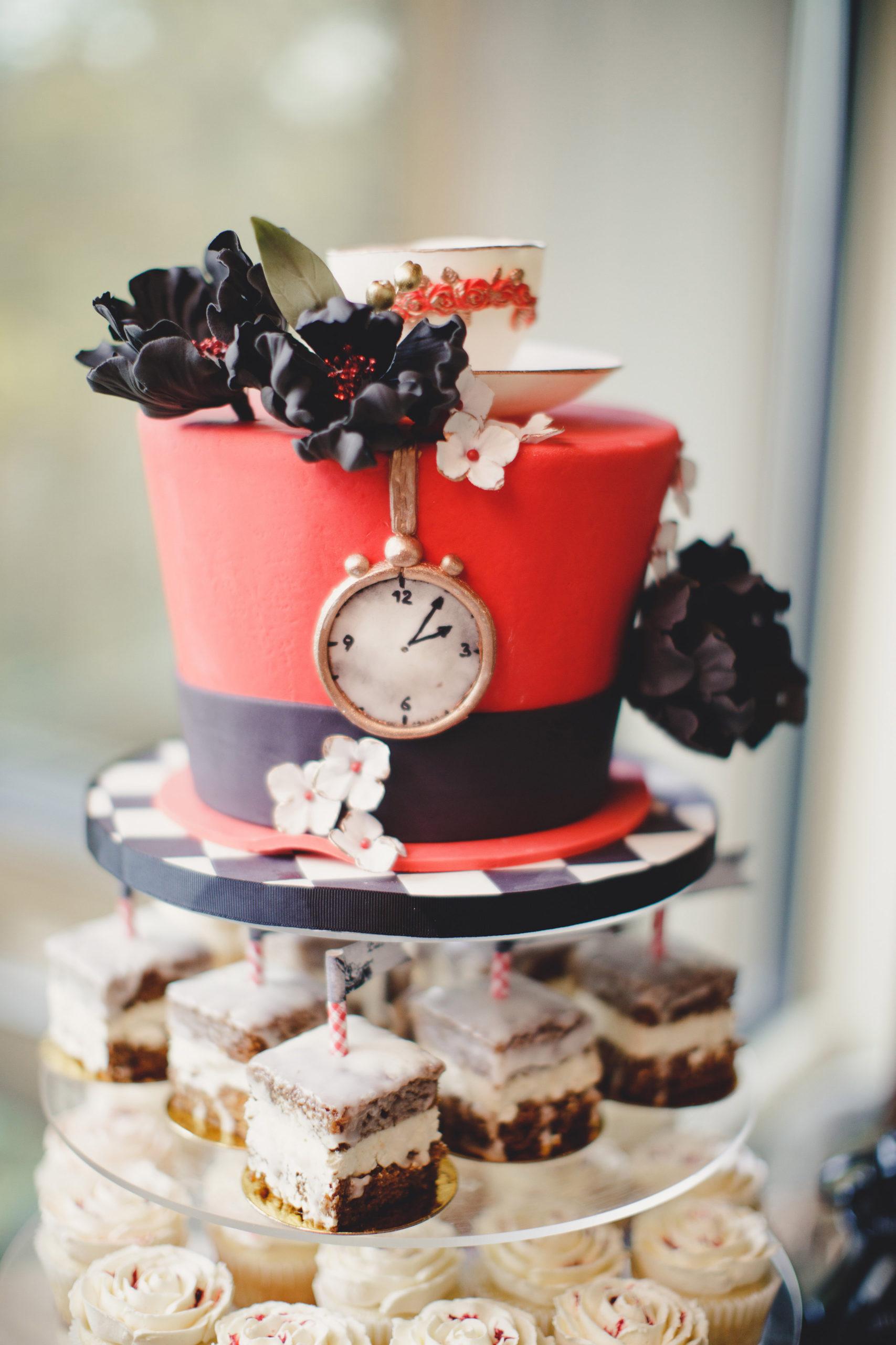 alice in wonderland wedding cake sweet avenue cakery