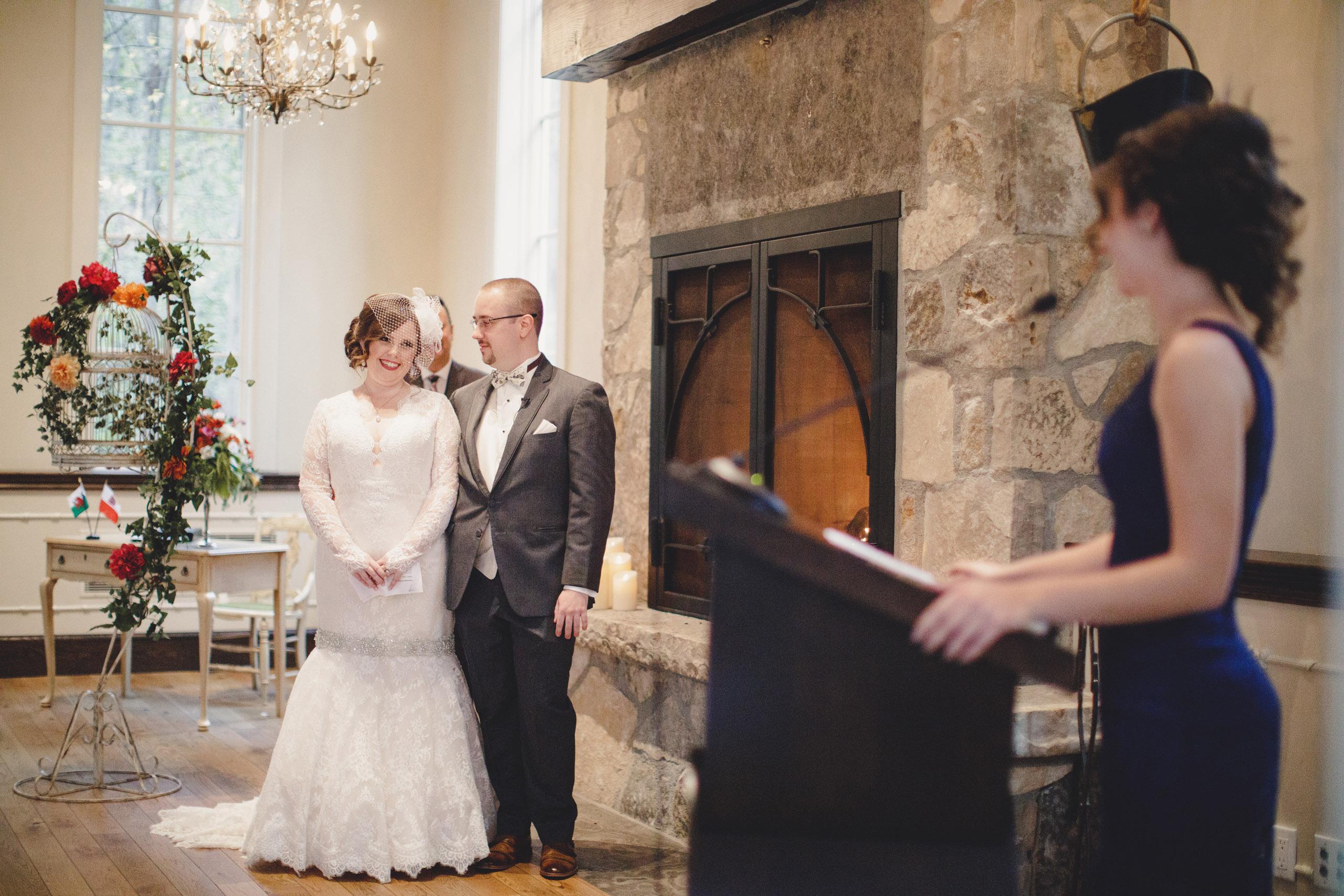 ancaster mill chapel ceremony niagara wedding photographer