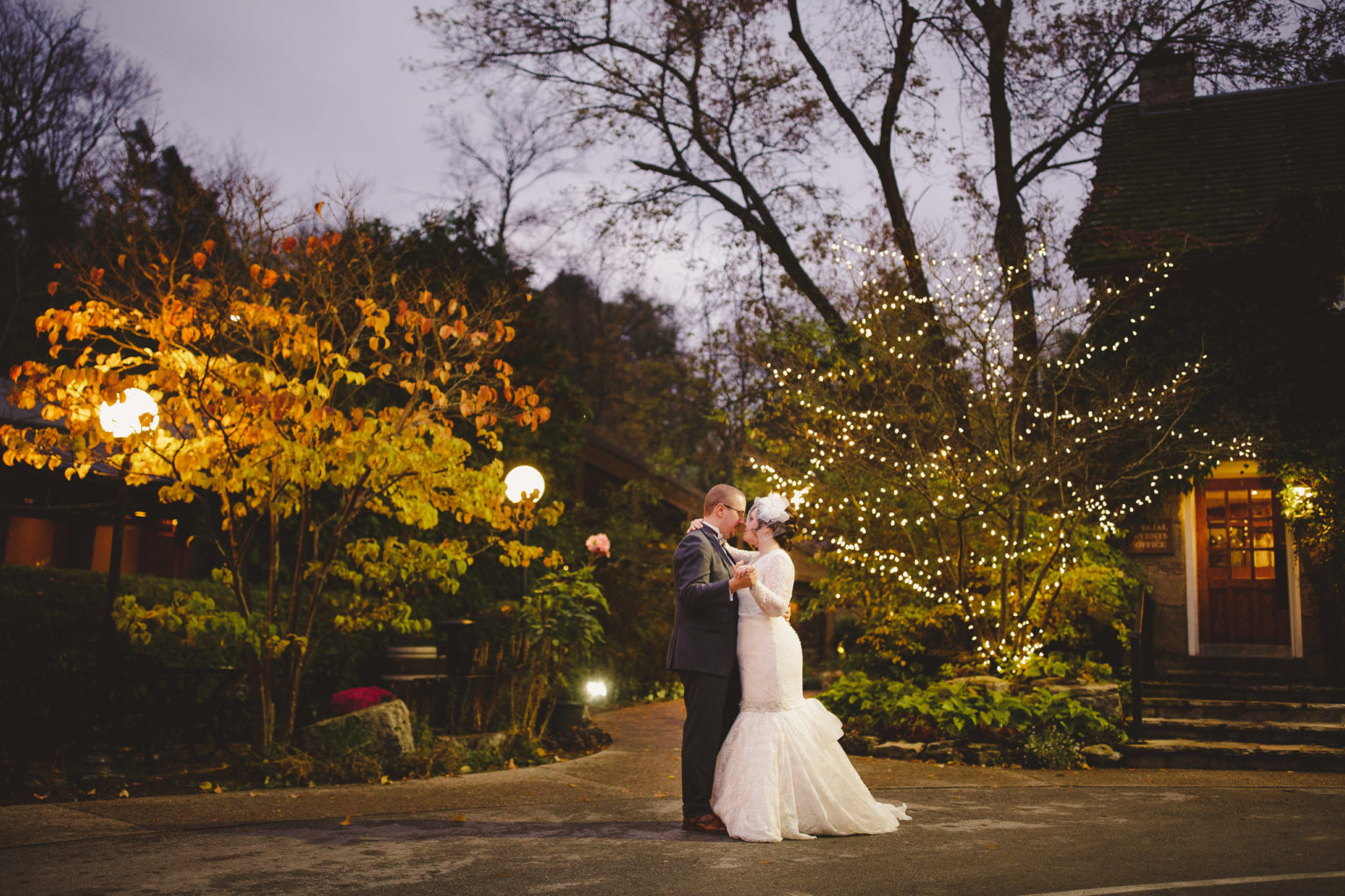 dance under stars ancaster mill autumn wedding