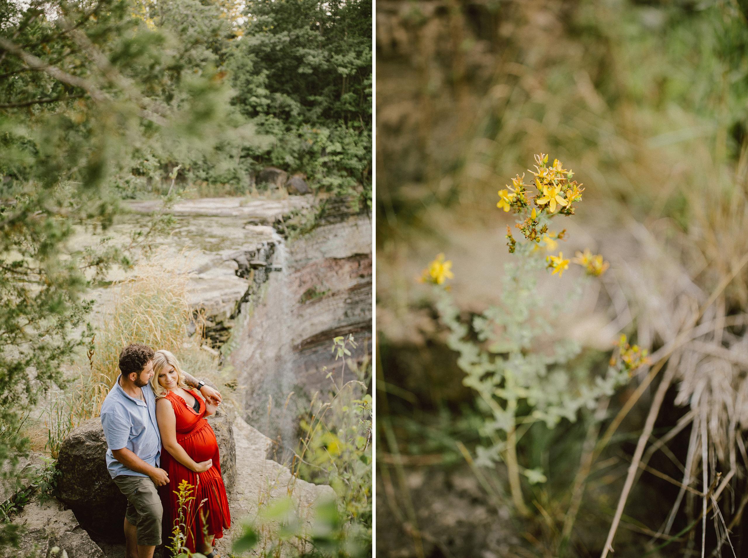 maternity photography on film niagara