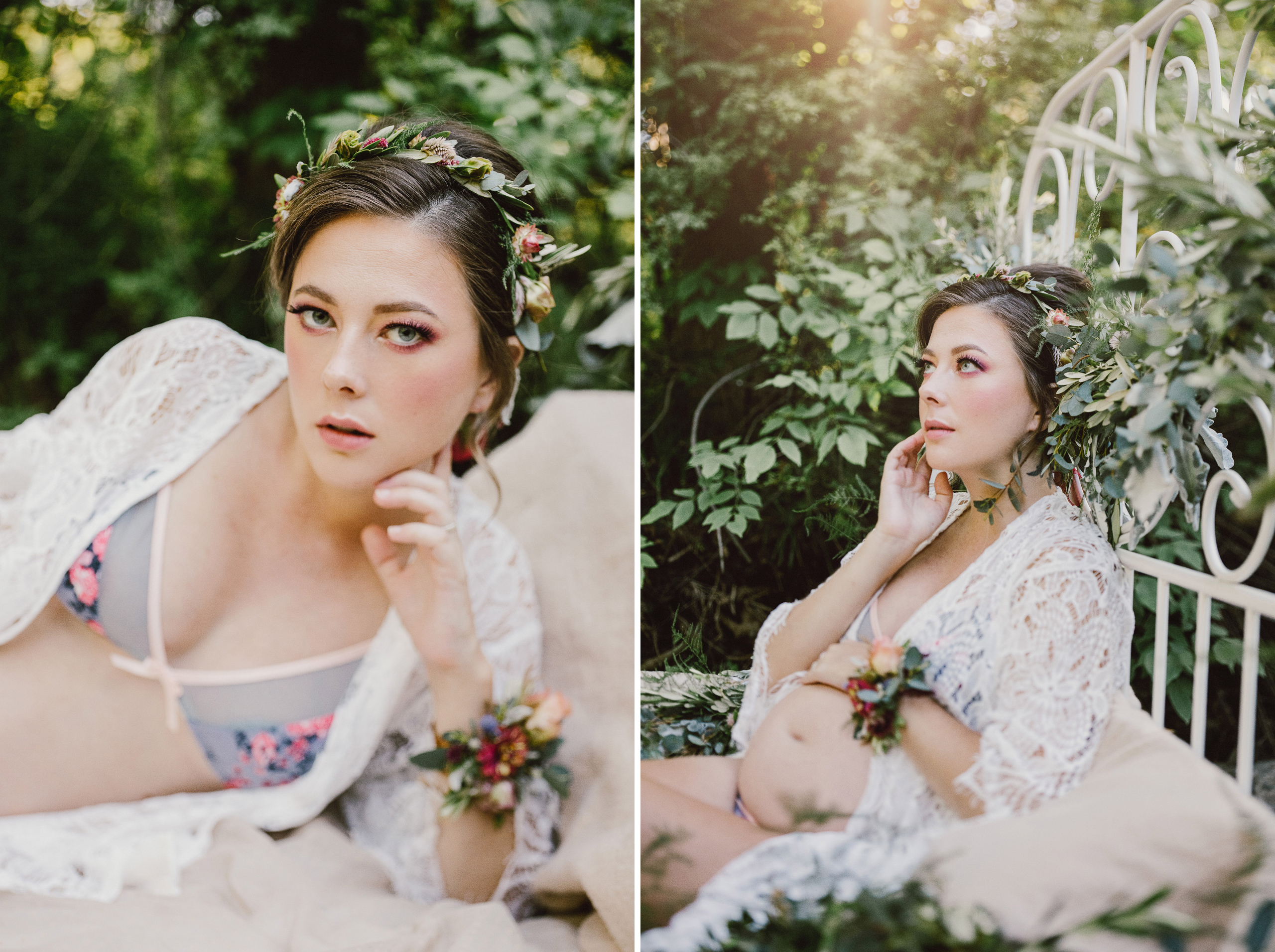 niagara maternity boudoir outdoor lingerie