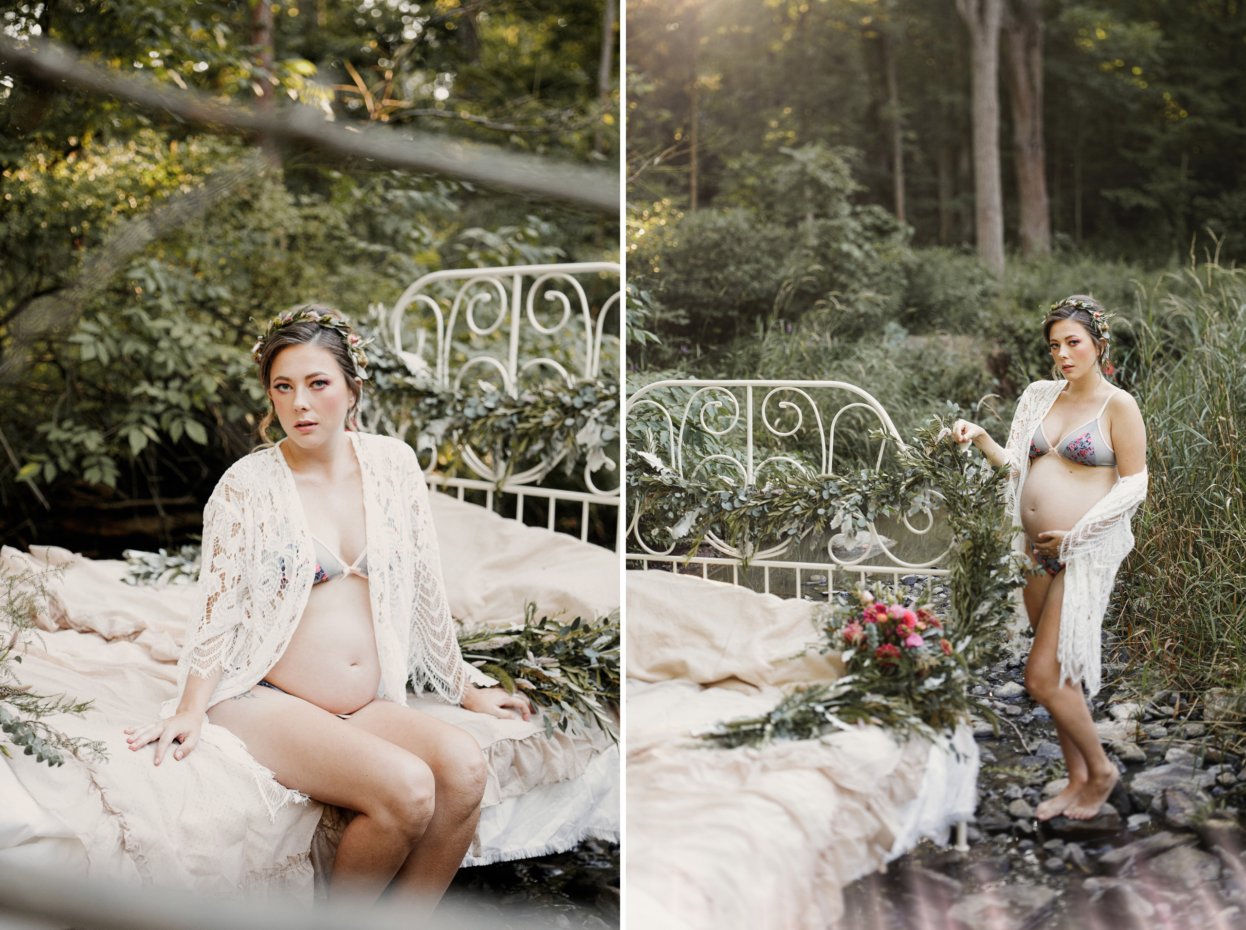 feeder flower farm southcoast beauty co niagara boudoir maternity photographer afterglow