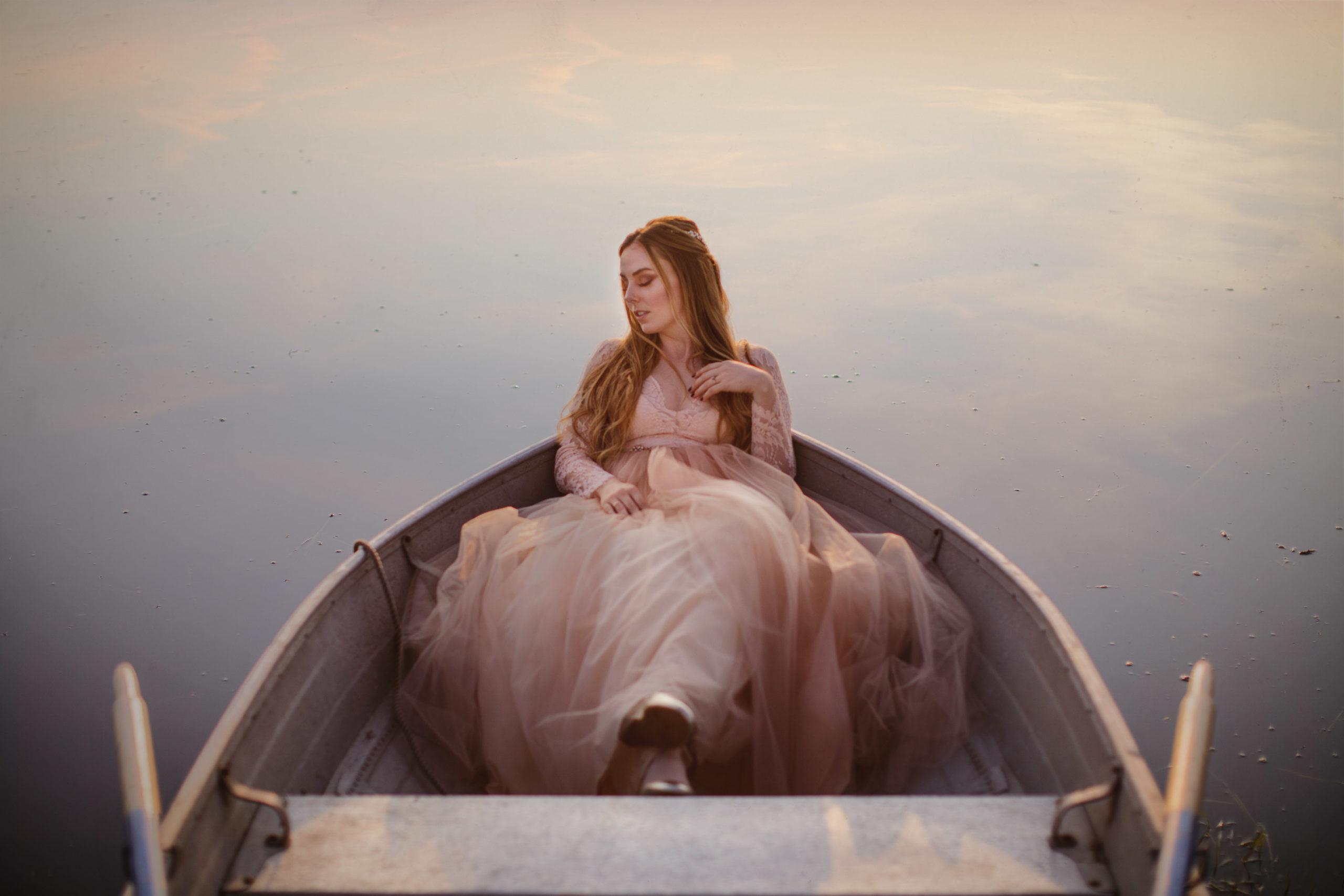 fairytale wedding niagara farm boat water