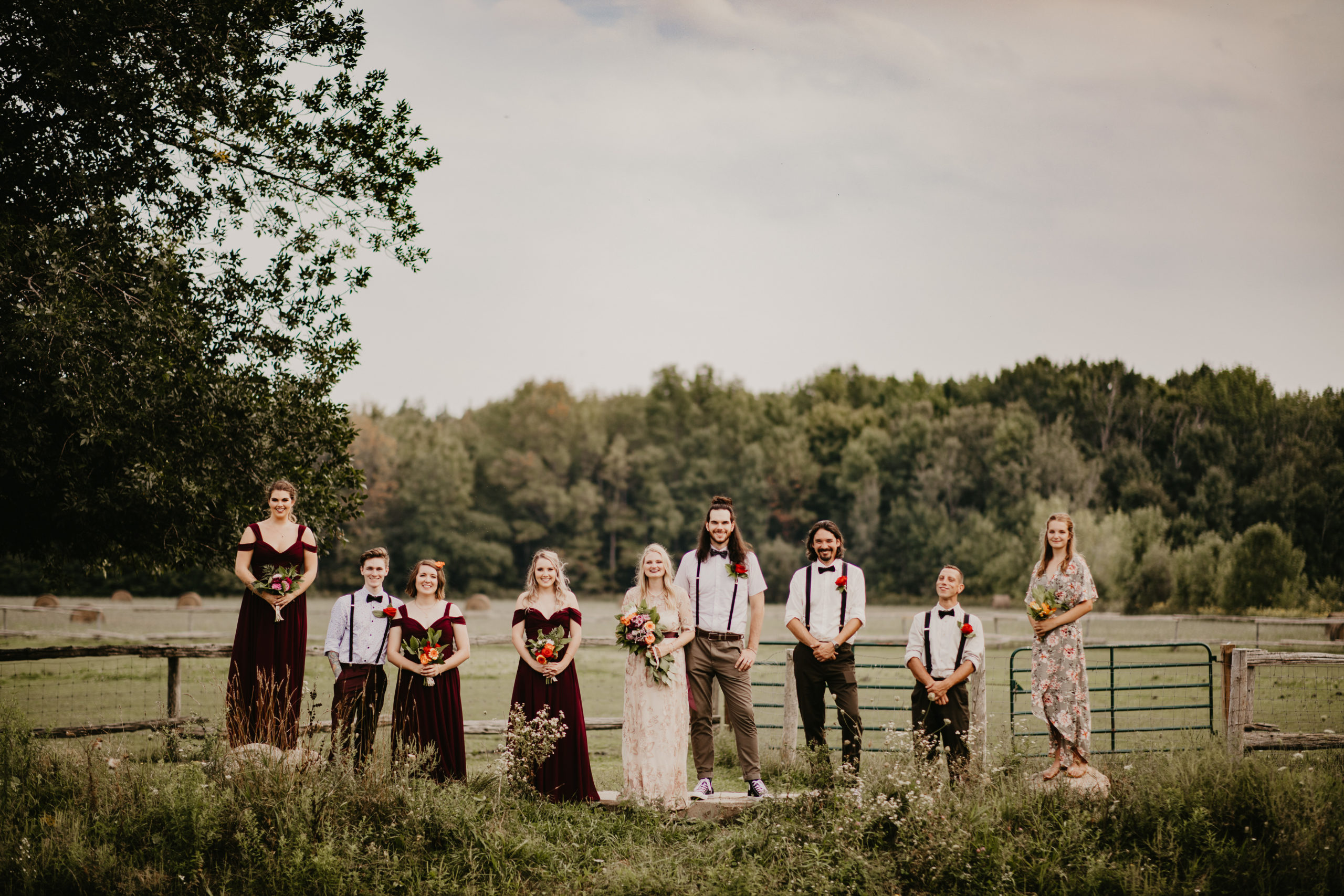 wedding castleview inn barrie farm