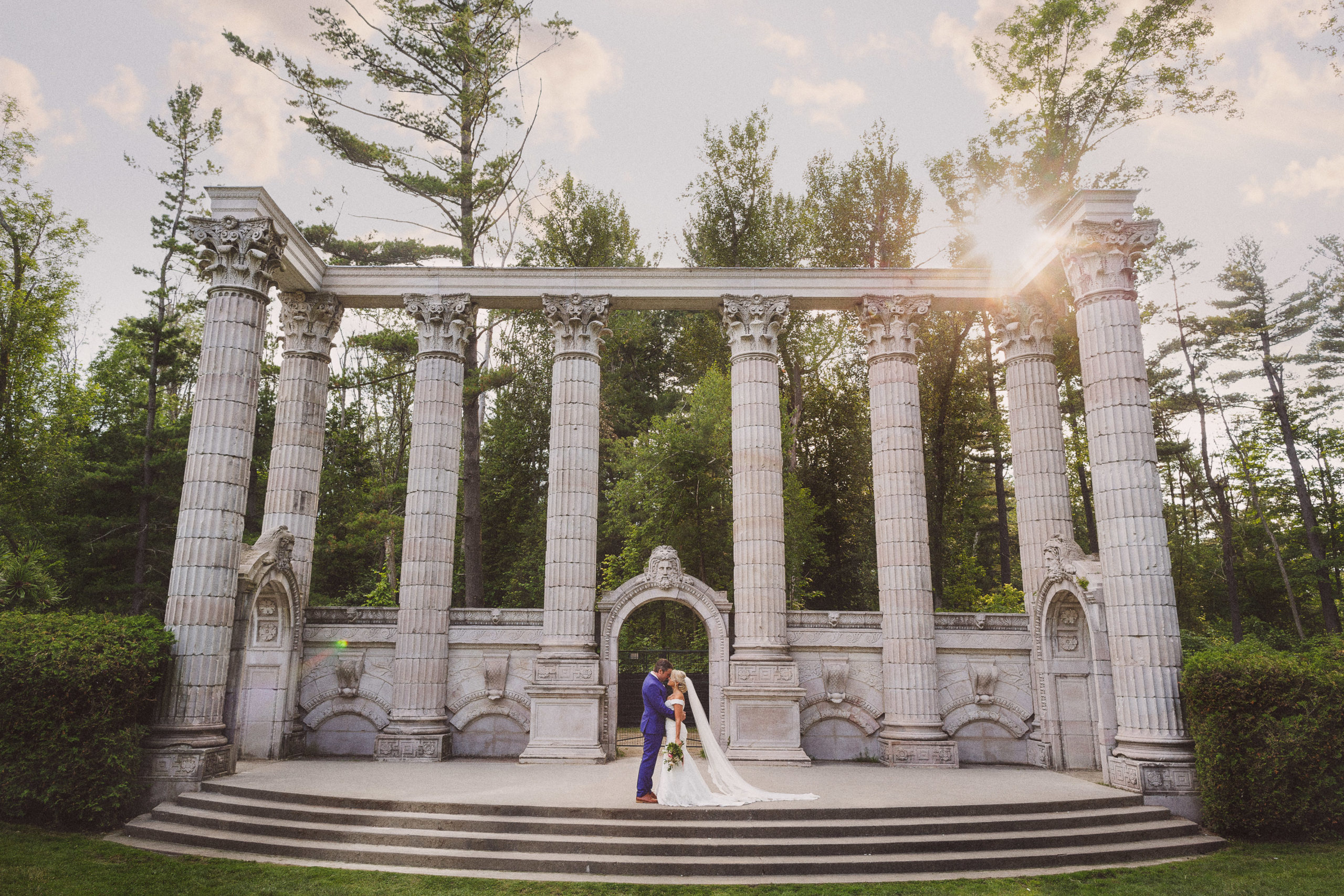 wedding ruins summer toronto photography