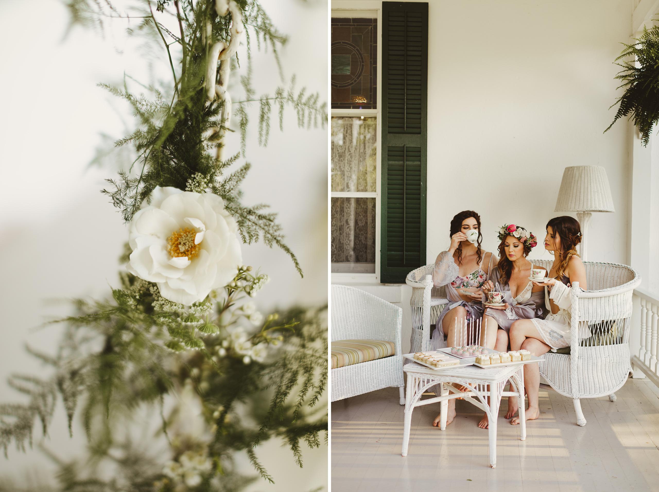 group boudoir bridesmaids best friends niagara photographer afterglow