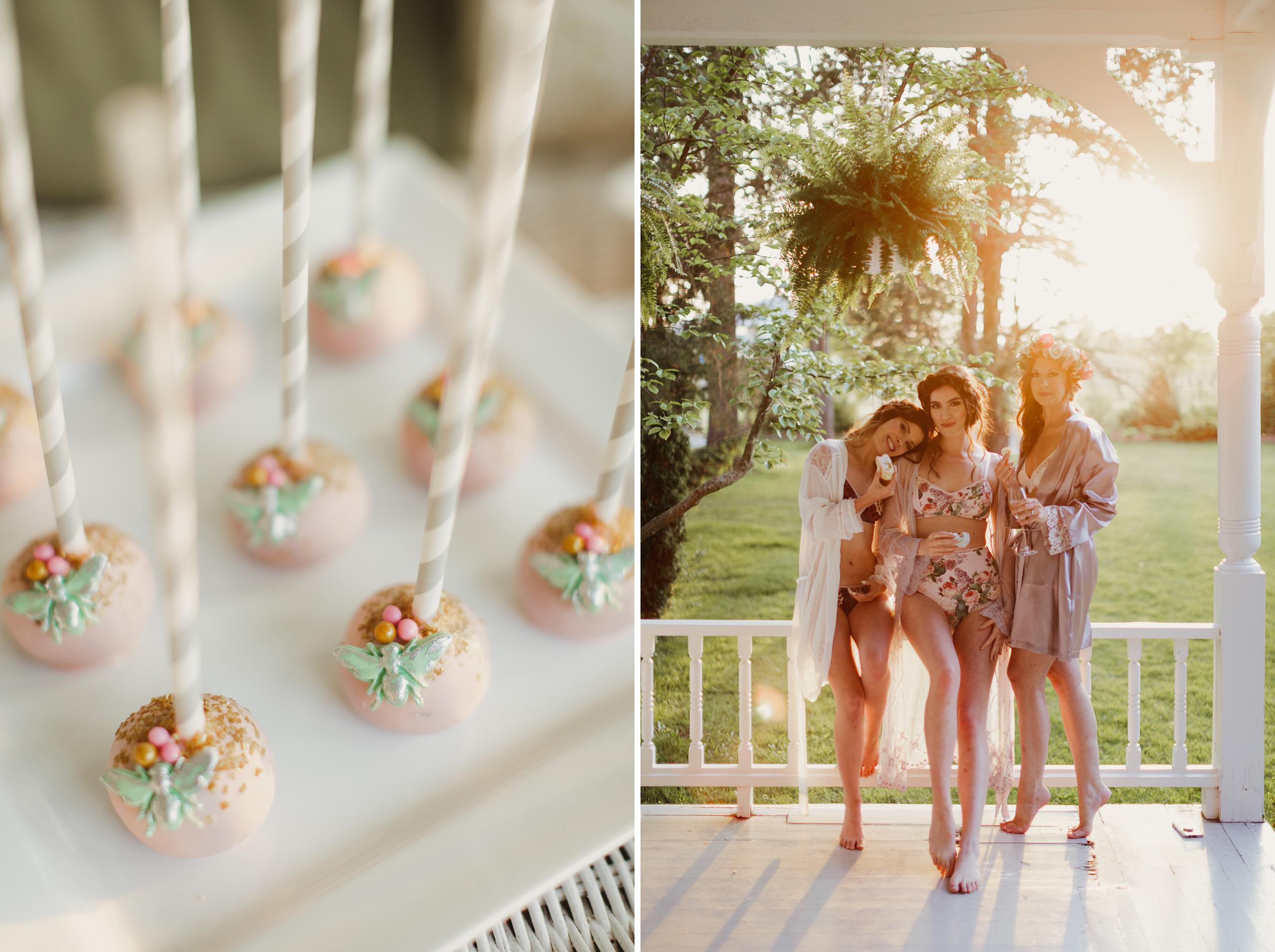 niagara spring boudoir group bridesmaids getaway afterglow photographer