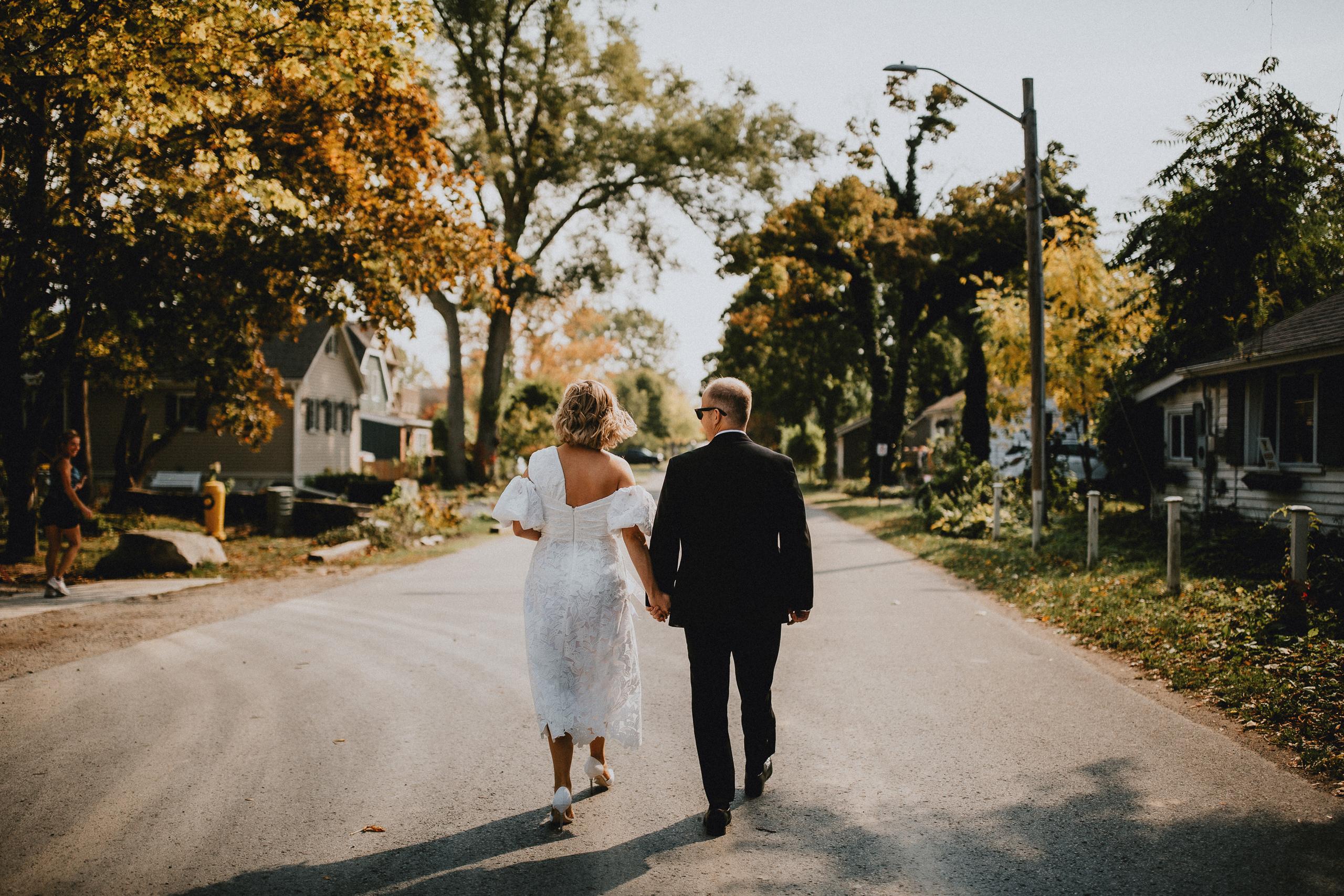 fall wedding niagara on the lake old town photography