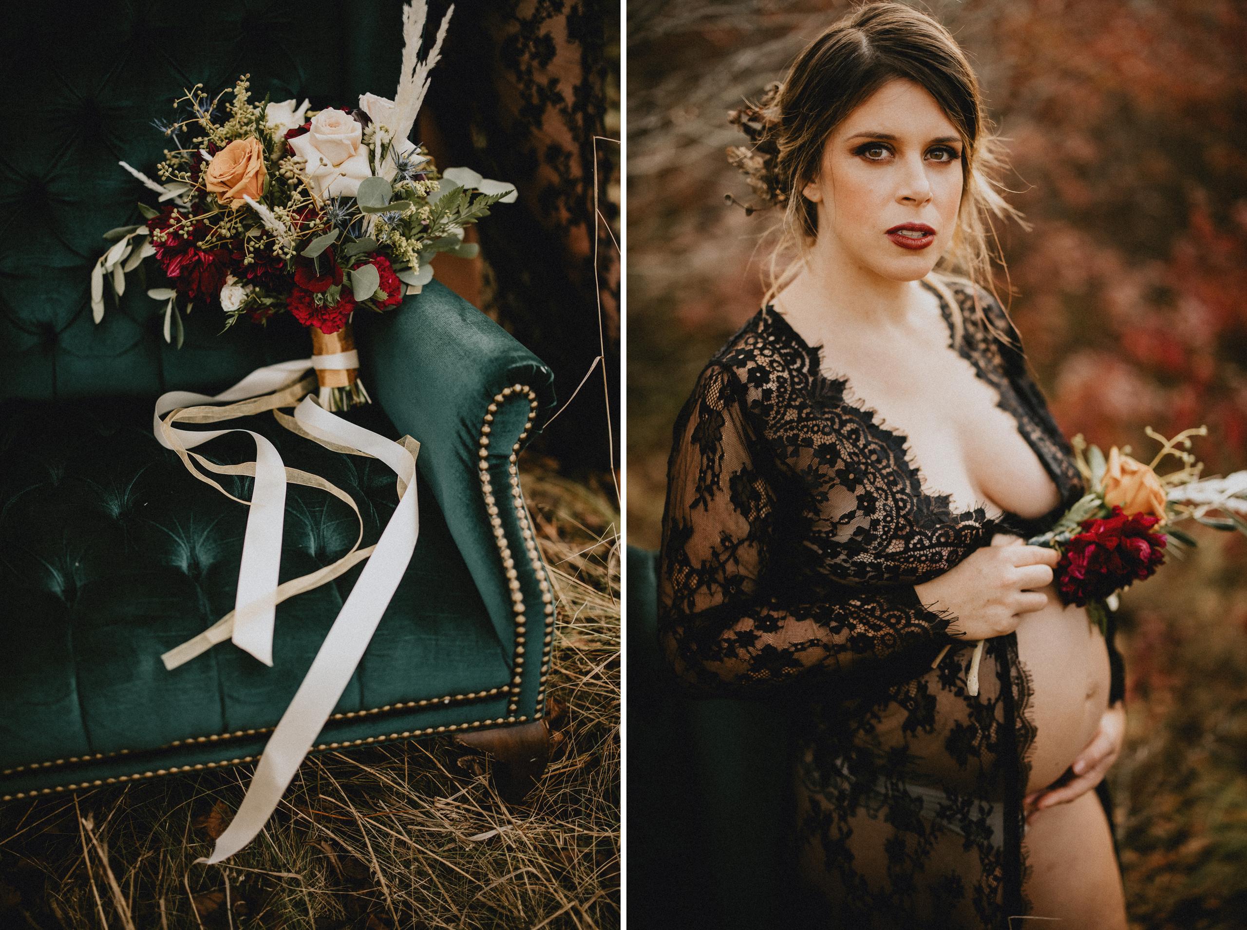 maternity boudoir pregnancy sexy photo shoot niagara photographer