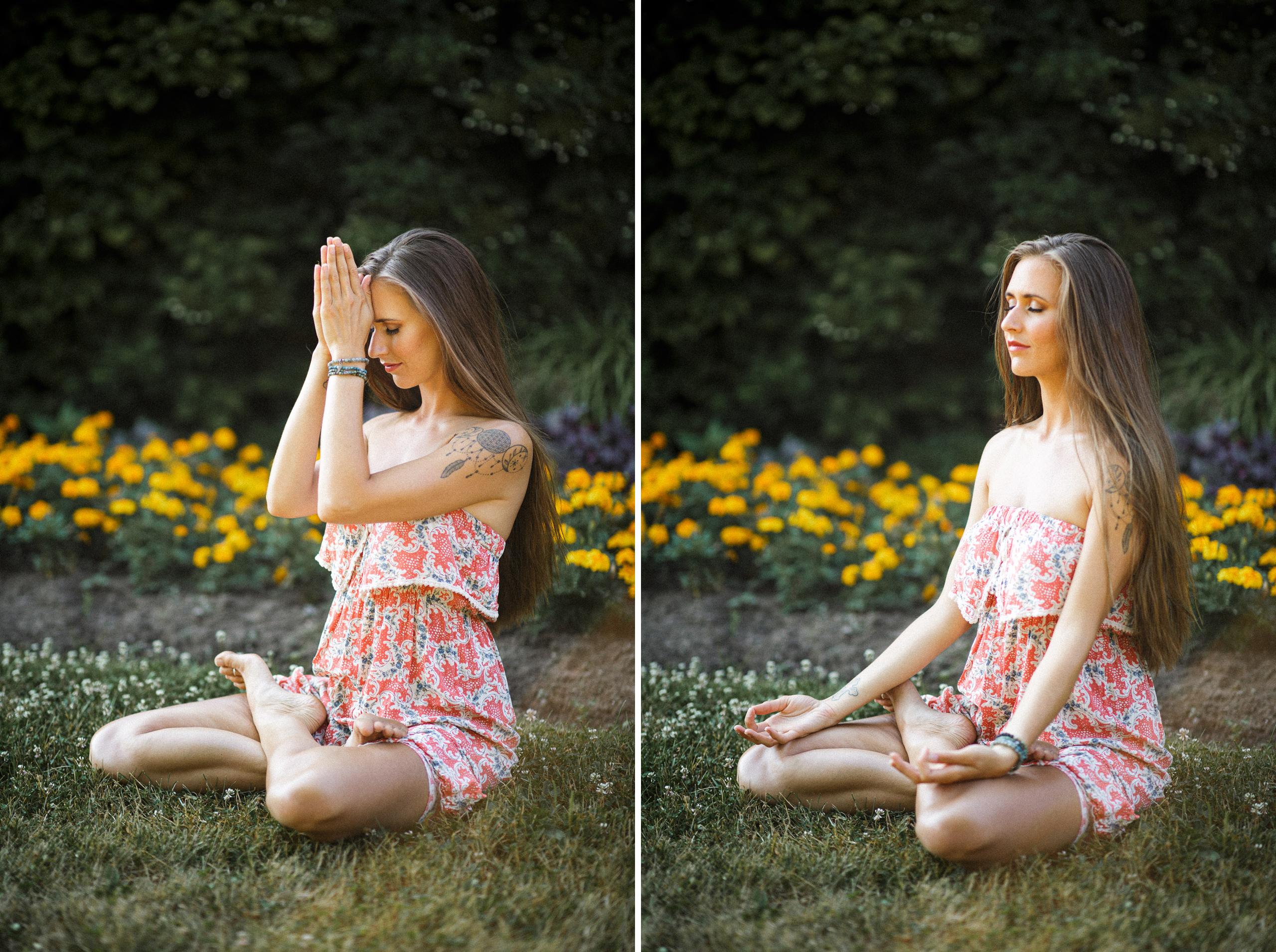 kristina jovanovic yoga instructor portrait