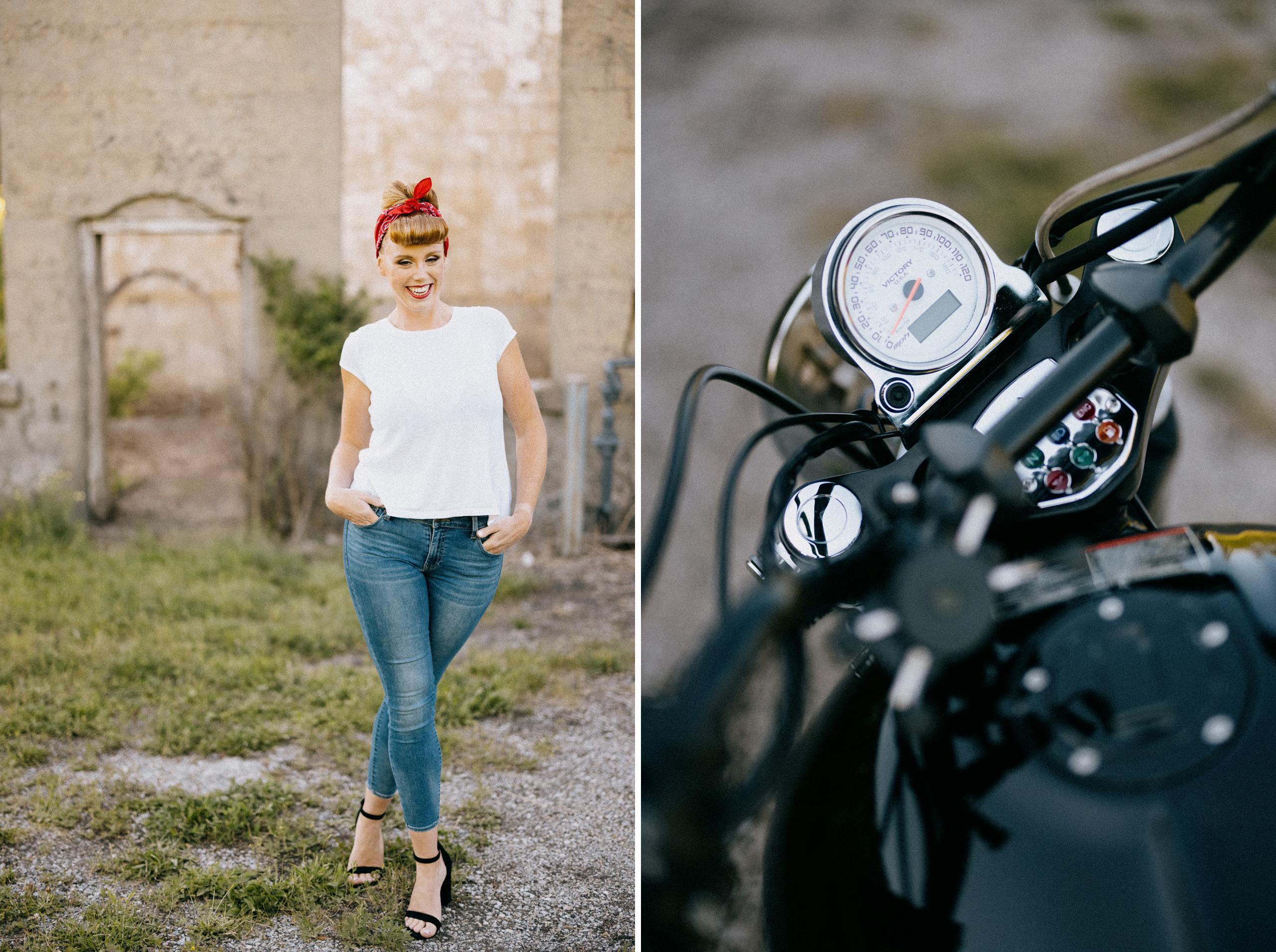 motorcycle lingerie curvy boudoir niagara photographer afterglow