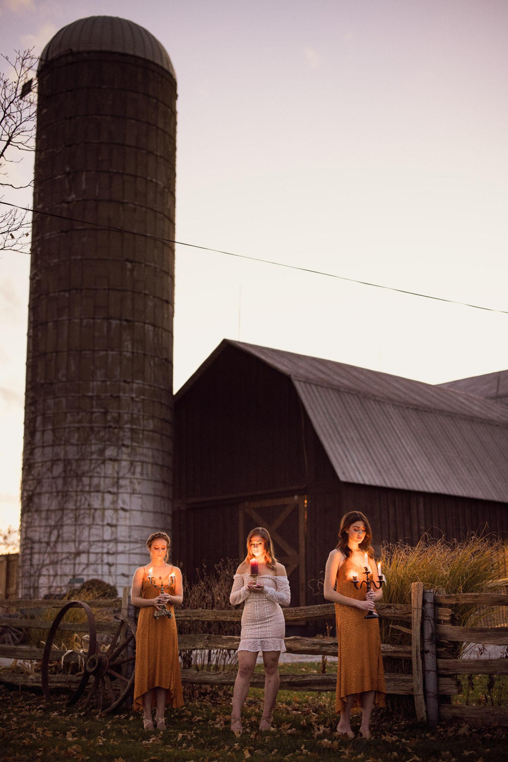 goodnight at maple meadows farm silo barn wedding niagara afterglow images