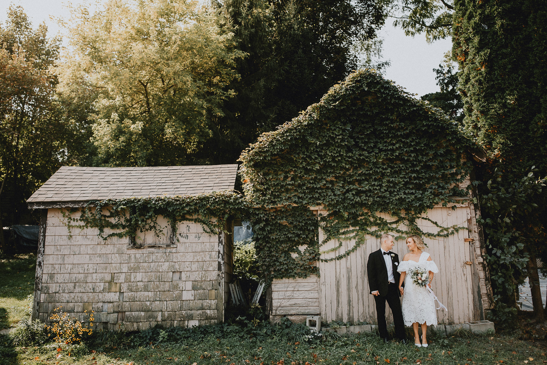 Elopement Niagara on the Lake Afterglow Images Wedding