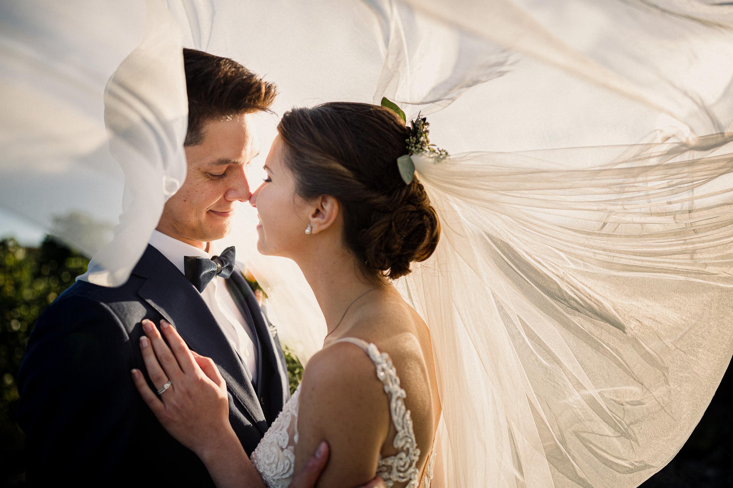 inn on the twenty wedding veil